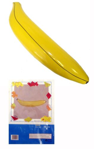 80 cm Inflatable Blow Up Banana Fruit Beach Party Decoration Fancy Dress Toy