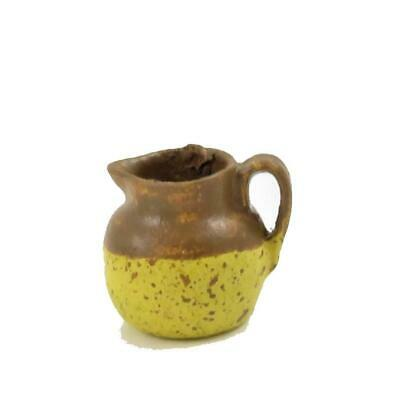 1:12 Scale Brown Ceramic Jug Tumdee Dolls House Kitchen Water Accessory Br41