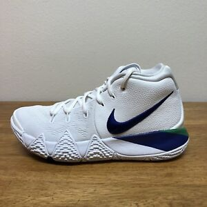 huge discount 155b4 68839 Details about Nike Kyrie 4 Seahawks Mens 943806-103 White Royal Blue  Basketball SZ 7.5=WMS 9
