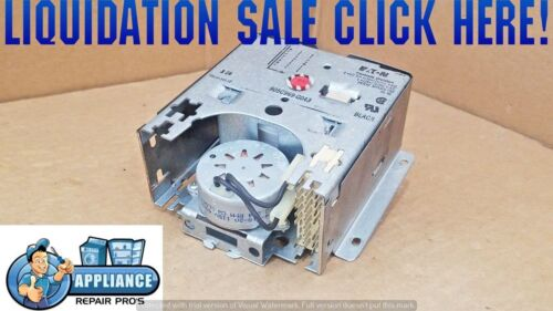 WH12X929 GE WASHER MAIN TIMER CONTROL SILVER 905C969-G043 WH11X111 WH12X0929
