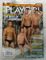 Playgirl Winter 2016 Boys Of Ft. Lauderdale + Free Giant Campus Hunks Poster