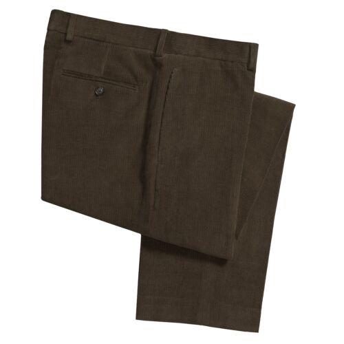 a Ralph Corduroys Pantaloni 100 Fit Lauren Fit cotone Classic frontali coste in vqqPxwUdn7