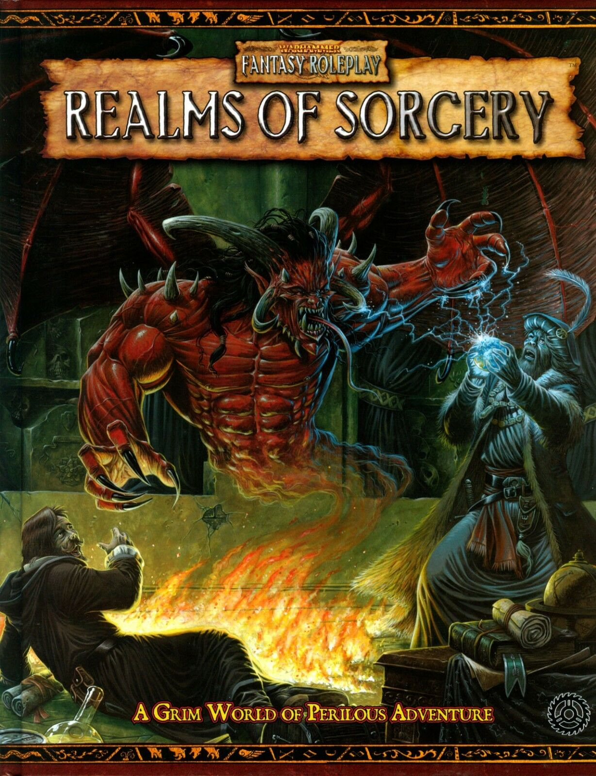 Warhammer Roleplay Realms of Sorcery Grim World of Perilous Adventure Hardcover