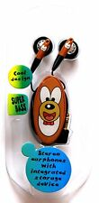 COMPACT COOL BEAR DESIGN CHILDRENS HIFI EARPHONES WITH INTEGRATED STORAGE DEVICE