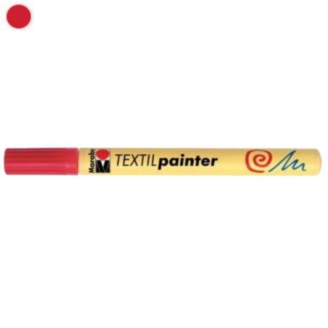 Marabu Textilmarker Stoffmalstifte 1-2 mm oder 2-4 mm Rundspitze Textilpainter