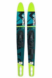 MESLE Combo Wasser-Ski Strato 170 cm mit Bindung, Anfänger Erwachsene für Boot