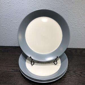 Dansk Graves Studio design Set Of 4 Dinner plates 9 7/8 AnG.L Dinnerware MCM