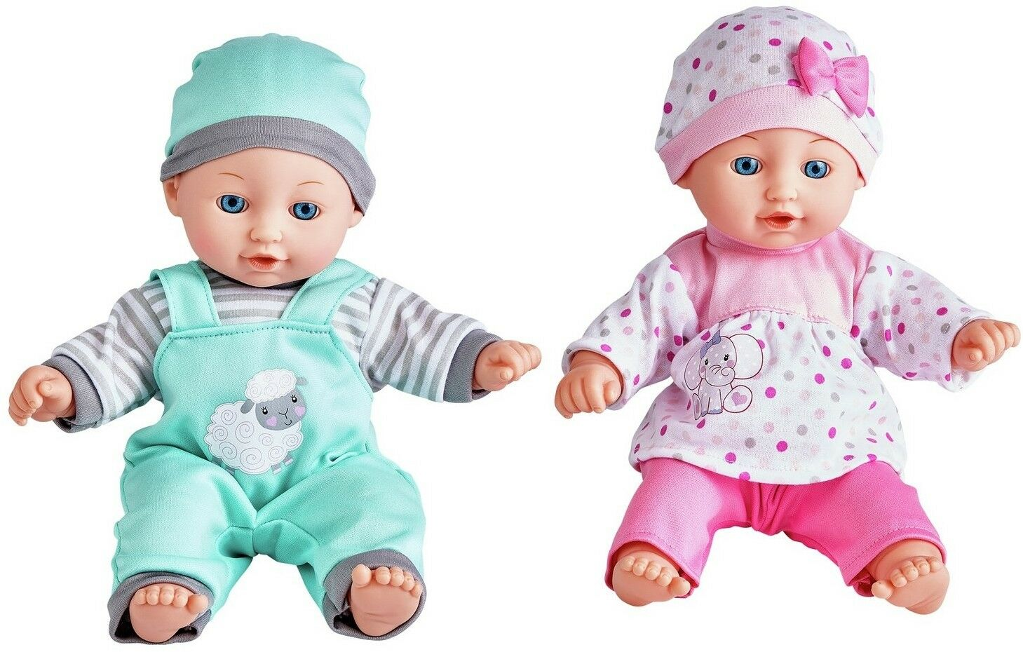 Kids Valley Babies to Love Talking Twin Dolls