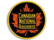 "4"" canadian national railway system logo decal bumper sticker logo"