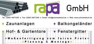 Sonderanfertigung / zusätzliche Arbeiten / Sonderwünsche bei rapa