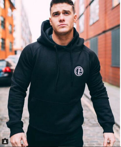 Hot Men/'s Fashion Hoodies Sport Gyms Muscle Bodybuilding Slim Sweatshirt Hooded