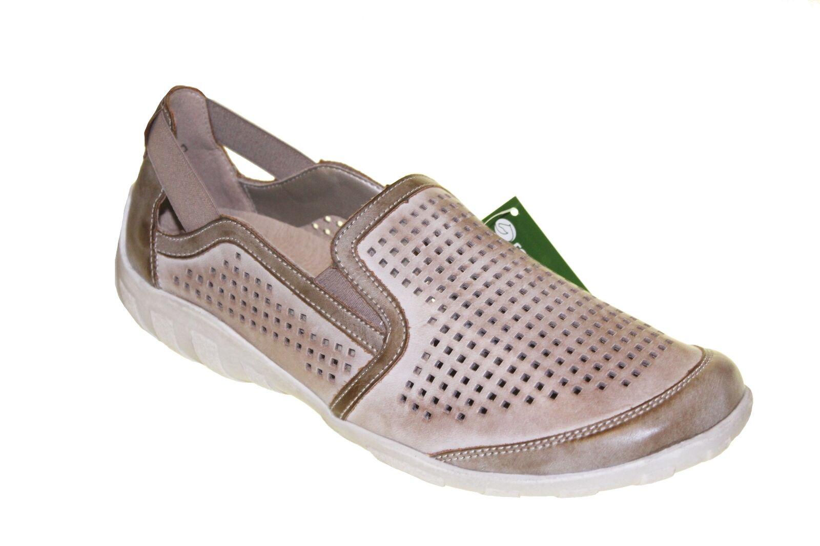 NUOVO Remonte r3425 -62 Ladies scarpe Slip  - on scarpe scarpe da ginnastica Leather re45  vendita all'ingrosso