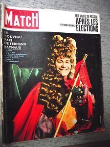 PARIS-MATCH-n-709-10-11-1962-FERNAND-RAYNAUD-JOHNNY-HALLYDAY-PROCES-LARCHER