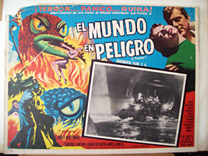ALL-SCY-FICTION-ONLY-AVAILABLE-24h-THEM-EDMUND-GWENN-1954-MEXICAN-LOBBY-CARD