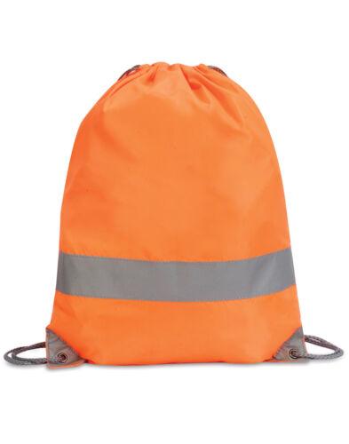 Cycling Hi Vis Hi Vis Drawstring Bag Running