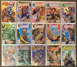 Gambit-1-2-1-2-3-5-6-7-8-9-10-11-23-25-Annual-1999-amp-2000-Marvel-Comics-Lot