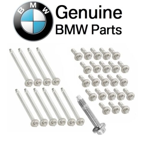 For BMW E60 E61 528i xD Motor Engine Oil Pan Bolt Set /& Torx Screw Kit Genuine