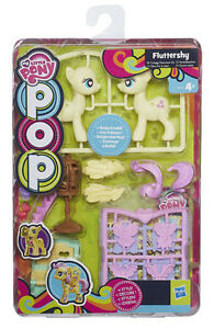 my little pony pop fluttershy cottage decorator kit design
