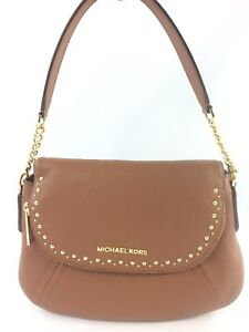 1a4fd7803e4d Image is loading New-Authentic-Michael-Kors-Aria-Studded-Medium-Convertible-