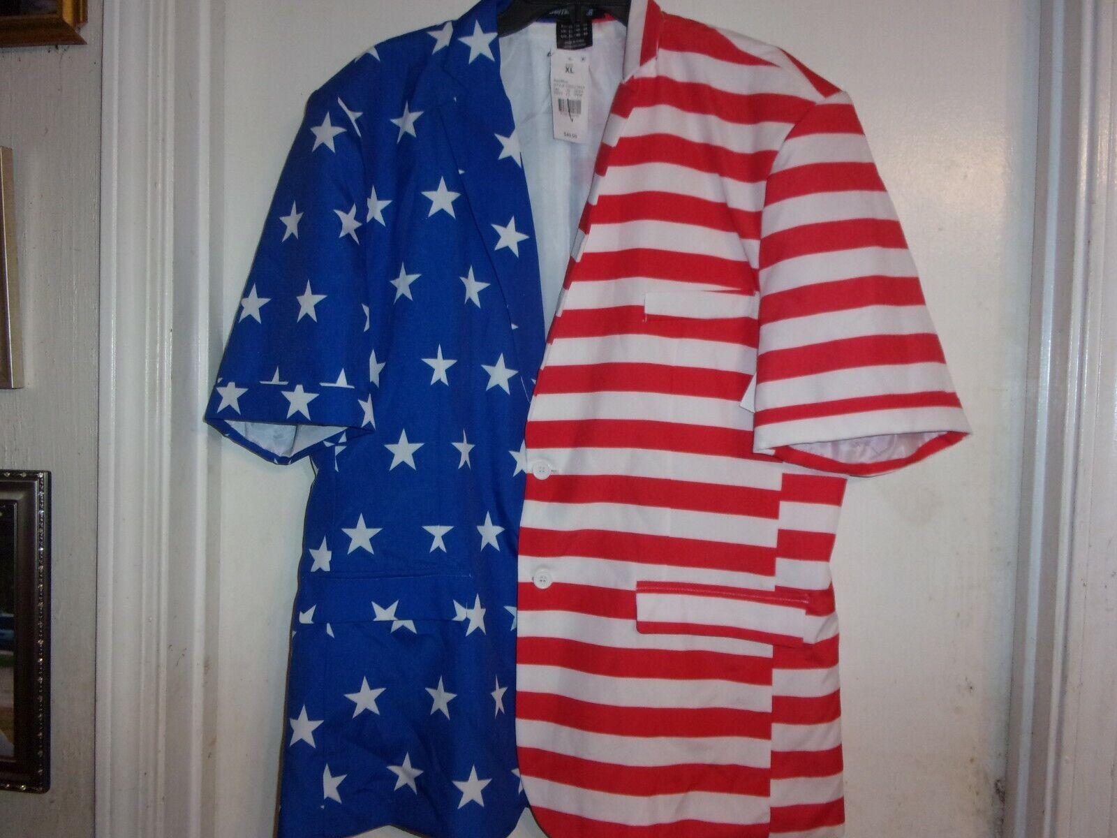 Rubie/'s Costume Men/'s Stars and Stripes Vest