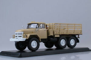 Start Scale Models 1/43 Camion Militaire Zil 6x6 131 Ussr Sable Ref Ssm1041