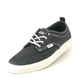 d11683ee4594 New Vans Quinn VN-0QGT6gp canvas trainer blue lace up flat sneakers ...