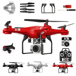 Wide-Angle-Lens-HD-Kamera-Quadrocopter-RC-Drone-WiFi-FPV-Live-Hubschrauber-Hover