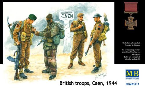 Caen 1944 in 1:35 MASTER BOX™ 3512 British Troops