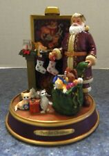 "The Bradford Exchange ""Purr-fect Christmas"" by Jurgen Scholz"
