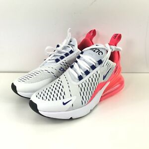 Nike Air Max 270 White Ultramarine Solar Red Women s Size 5.5 AH6789 ... 361548bc5
