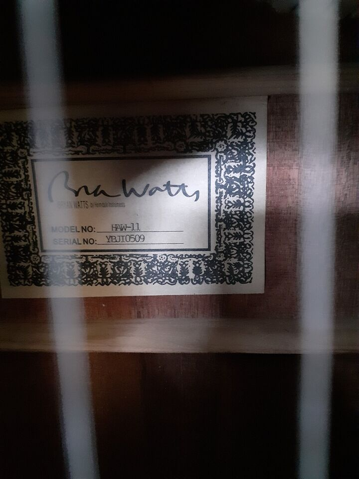 Western, andet mærke Bryan Watts