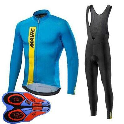 2019 Cycling jersey mens road bike clothing bicycle shirt 9D bib pants set P02