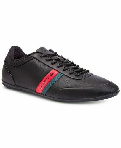 Lacoste storda 318 1 U Cam Black/Red Leather Red Black 7
