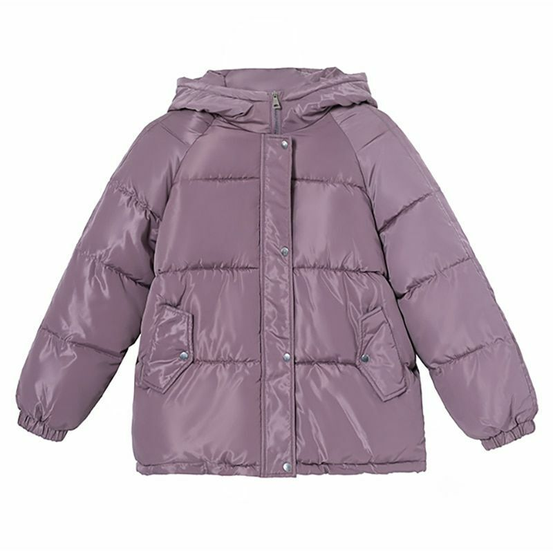 Thickened Hooded Outerwear Jackets For Women Broadcloth Cotton Casual Jacket New