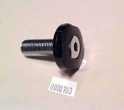 Headset//stem top bolt 14x1.5mm thread w//hollow for cable pass through NOS