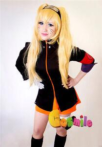 Naruto Uzumaki Female Version Sex Reversion Cosplay Costume Sa Ebay
