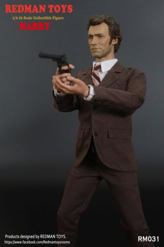 1//6 Scale Collectible Figure REDMAN TOYS Clint Eastwood Dirty Harry RM031