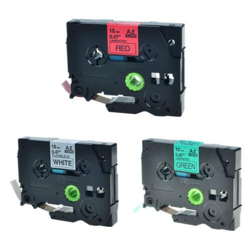 3PK TZe TZ 231 431 731 Label Tape For Brother P-Touch PT-1800 PT-1810 PT-1830
