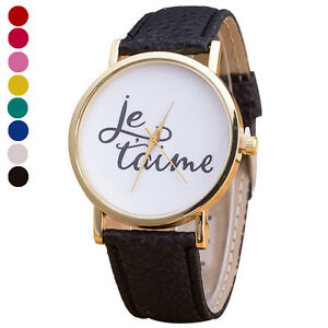 English-Alphabet-Pattern-Leather-Band-Analog-Quartz-Vogue-Wrist-Watch-Watches