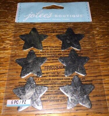 JOLEE/'S BOUTIQUE 3D STICKERS METAL STARS