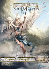 3x Angel #6 Custom  Altered Tokens MTG (for Geist of Saint Traft)
