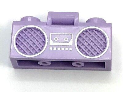 New Genuine LEGO Black Radio Boom Box with Handle City