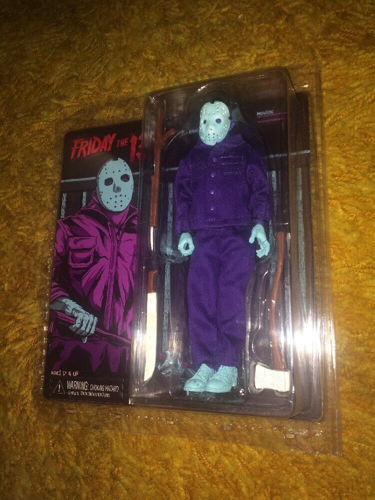 NIP Neca Friday the 13th NES 8-bit Mego-Style Jason Voorhees Toy Doll Figure