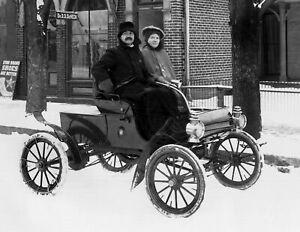 "Brooklyn 1904 The Circle New York Vintage Photograph 8.5/"" x 11/"" Reprint"
