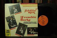 Fiddlin Man Frenchie Burke rare Delta lp record album Cajun Fiddle Rubber dolly