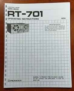 Pioneer-RT-701-Reel-to-Reel-Tape-Deck-Owners-Manual