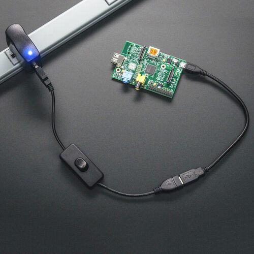 USB-Kabel mit EIN AUS-Schalter Power Control für Himbeere Werkzeug V5L2