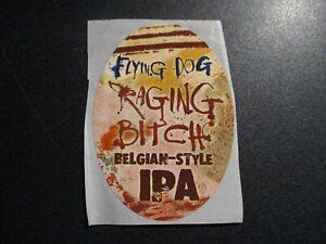 FLYING DOG Numero Uno raging bitch STICKER decal craft beer brewing brewery