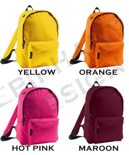 Kid/'s Beluga Whale Backpack Bag Add Name Custom Boy Girl Gift School Animal Cool