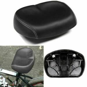 Bicycle Saddle Seat Extra Soft Pad Wide Big Bum MTB Mountain Bike Noseless